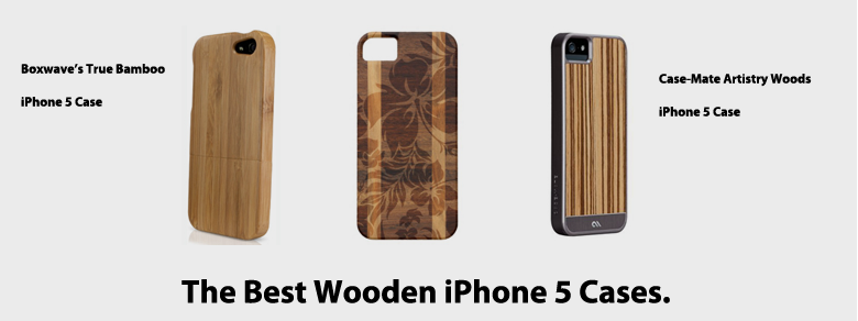 Best Wood iPhone 5 Cases