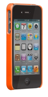 casemate barely there electric orange case